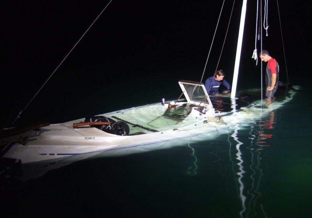 Sinkin yacht rig