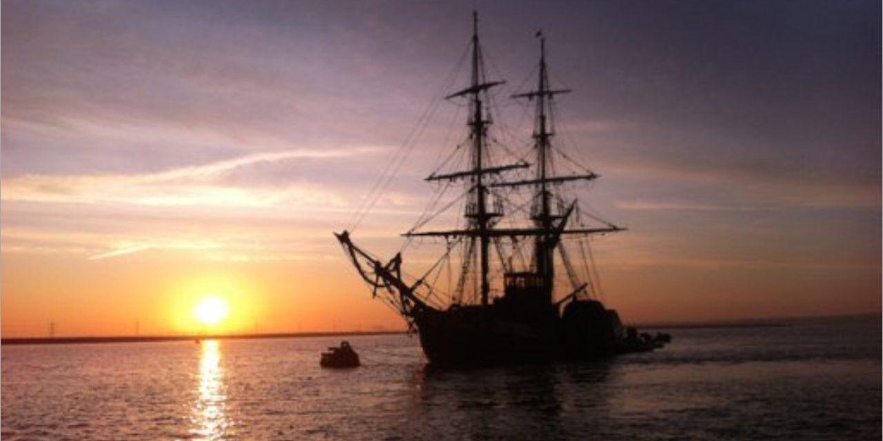 Lying at anchor